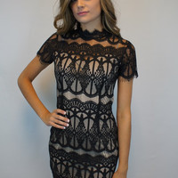 Little Black {Lace} Dress
