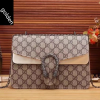 shosouvenir  Gucci  Women Leather Shopping Chain Shoulder Bag Satchel Crossbody