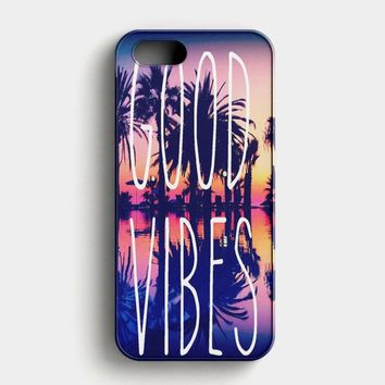 Good Vibes Only iPhone SE Case