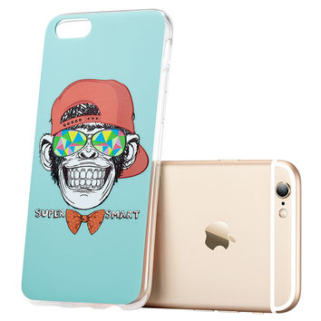 ESR Soft Bumper Hard Back Cover illustration Cute Cartoon Case for iPhone 6 Plus/6s Plus