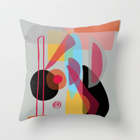 Modern minimal forms 22 Throw Pillow by naturalcolors