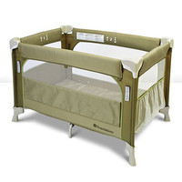 Foundations Sleep Fresh Elite Portable Crib Play Yard Sahara - 1556287