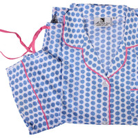 Maisie Pajama Set, Blue, Pajamas