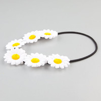 Full Tilt Daisy Flower Crown White One Size For Women 24072115001