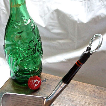 Golf Club Bottle Opener  - Cary Middlecoff Wilson Signature 2 Iron - Golf Gift Idea
