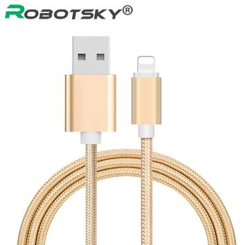 USB Charger Cable for iPhone 7 6 6s Plus 5 5s iPad 4 mini 2 3 Air 2