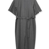Wool Judo Jumpsuit by Boutique - Grey Marl