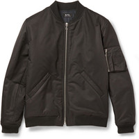 A.P.C. - Cotton-Blend Bomber Jacket | MR PORTER