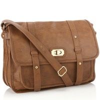 Hampstead Satchel | Brown | Accessorize