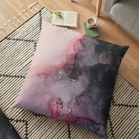 'Kiss Goodbye' Floor Pillow by DuckyB