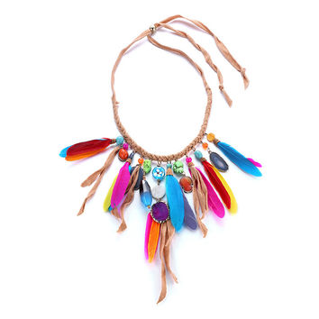 Shiny Gift New Arrival Jewelry Stylish Bohemia Tassels Accessory Necklace [10825998406]