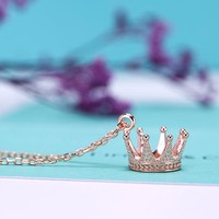 Tiffany & Co. Princess Crown Pendant