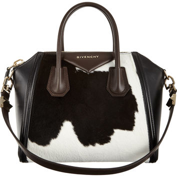 Givenchy Calf Hair Small Antigona Duffel at Barneys.com