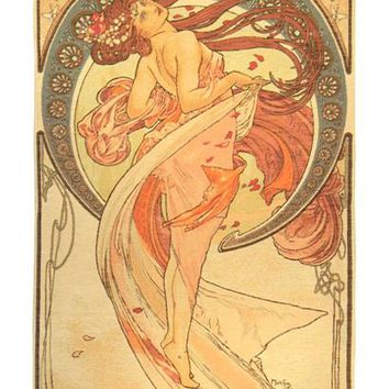 Dance by Mucha French Tapestry