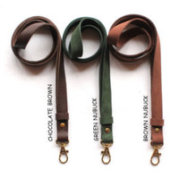 Leather lanyard, key ring lanyard, key ring lanyard, Leather Neck Strap, lanyard, keychain, key holder, ID holder, leather keychain