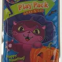 Happy Haunting Play Pack Grab Go Set 12 Coloring Book Crayons Stickers Halloween