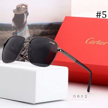 Cartier 2018 spring and summer couple new color film polarized sunglasses F-A-SDYJ #5