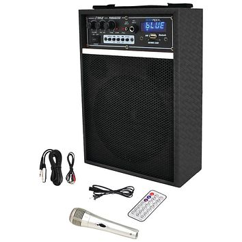 "Pyle Pro 300-watt Bluetooth 6.5"" Portable Pa Speaker System"