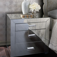 Clairmonte Mirrored Nightstand