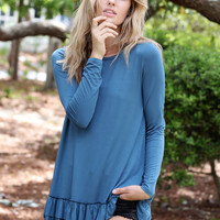 Original Double Ruffle Tunic — Spring/Summer Colors