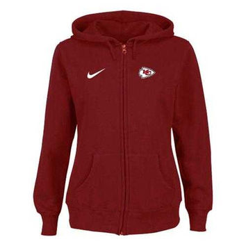Women's Nike Kansas City Chiefs Ladies Tailgater Full Zip Hoodie Red