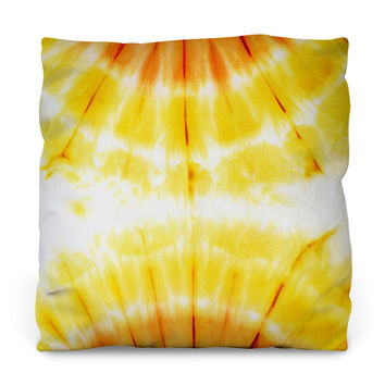 Attractive Amber Outdoor Throw Pillow