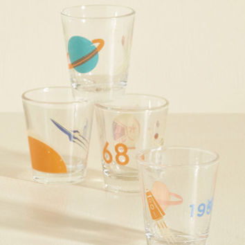 It's Not Chocolate Science Shot Glass Set | Mod Retro Vintage Kitchen | ModCloth.com