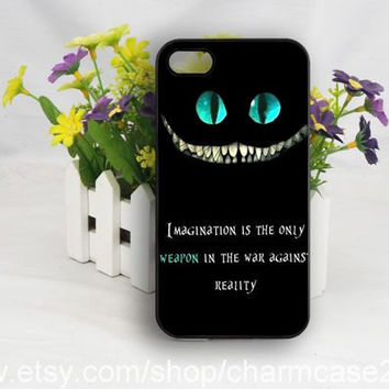 Alice in wonderland we're all mad here iPhone 4s case,samsung galaxy s3/s4/s5 case,iphone 4/4s case,iphone 5/5s/5c case,Personalized case