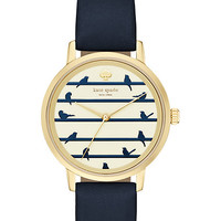 Kate Spade Birds On Wire Metro Navy ONE