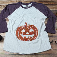 Pumpkin Bump Women's Halloween Top
