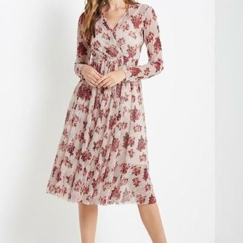 Nerida Floral Lace Maxi Dress