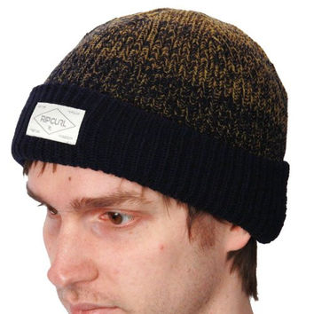 Rip Curl Men's Blow Out Beanie Hat One Size Deep Navy