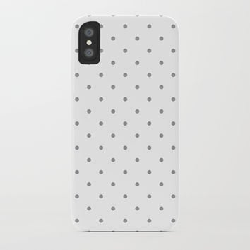 Small Grey Polka Dots by CoolFunAwesomeTime