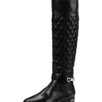 Michael Kors Ramsey Quilted Leather Boot