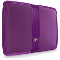 Case Logic - Protective Sleeve for 13.3-Inch MacBook Air and 14-Inch Ultrabook - Purple