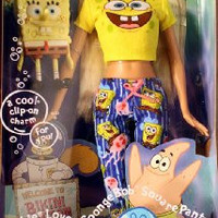 Mattel Barbie Loves Spongebob Squarepants - Pop Culture Barbie Doll