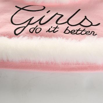 Girls Do it Better Crop Top