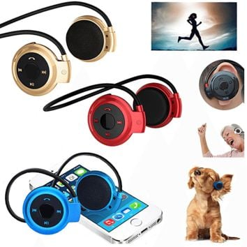 Cool Wireless Bluetooth Stereo Waterproof Headset Headphone