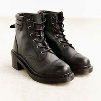 Dr. Martens Alexandra Heeled Lace-Up Boot- Black