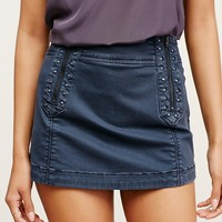Free People Runaway Love Studded Mini