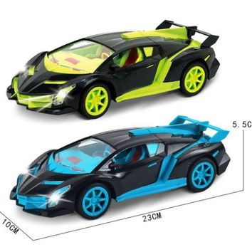 1:18 Electric RC Cars Machines On The Remote Control Radio Control Cars With LED light Toys For Boys Children Kids Gifts