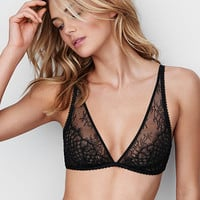 Limited Edition Fishnet & Lace Triangle Bra - Very Sexy - Victoria's Secret