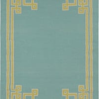Light Blue Rug Surya Almeda