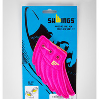 Neon Pink Shwings-Wings for Shoes