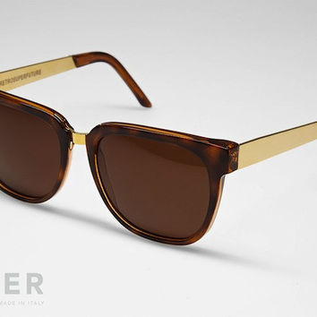 retroSUPERfuture People Francis Havana Sunglasses