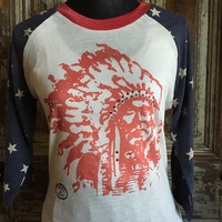 Indian Chief with Star Sleeves