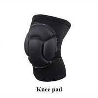 1 PC Soccer Sponge Knee Pad Black Football Knee Support Protector Sports Kneepad Fitness Goalkeeper Volleyball Knee Pad L133