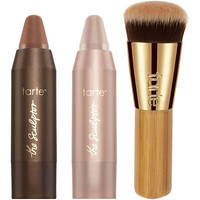 Tarte Online Only Chiseling Charmers Deluxe Contour Set