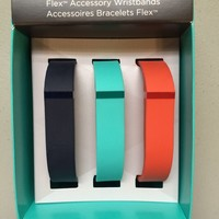 New Fitbit Flex Accessory Wristbands- 3 Pack- Size-LARGE