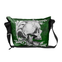 Skull Cameo 1 Courier Bag